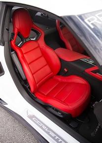 2015 Chevrolet Corvette Z06 Interior Red Seats