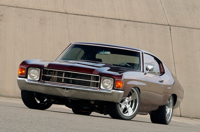 1972 Chevy Chevelle Front