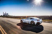 2015 Chevrolet Corvette Stingray Z51 Rear Three Quarters In Motion 04