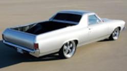 Sucp 0806 Pl 1969 Chevy El Camino Rear View