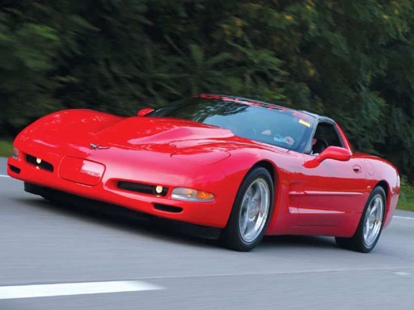 1997 Chevrolet Torch Red Corvette - Corvette Fever Magazine