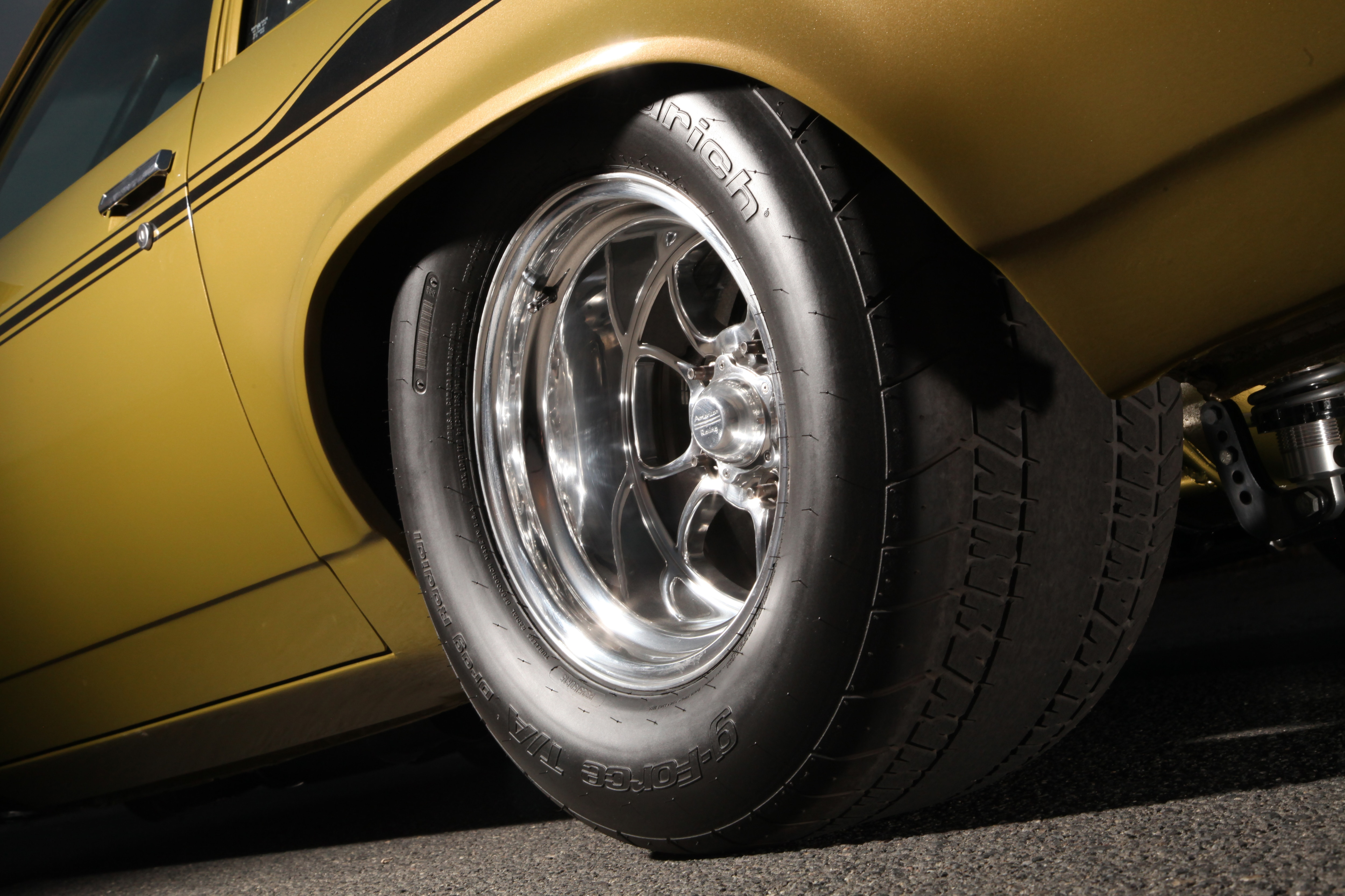 Pro Street Vega Rear Tire And Wheel