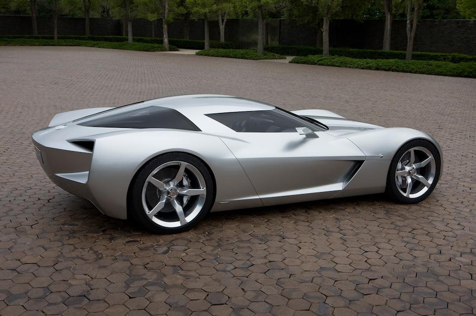 3 2009 Corvette Stingray Concept Side View