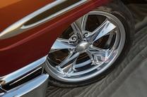 012 1956 Chevrolet Tri Five Red
