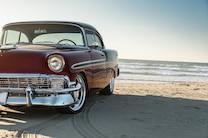 009 1956 Chevrolet Tri Five Red