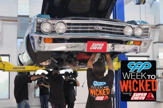 Week To Wicked 1967 Chevelle Disassembly 001