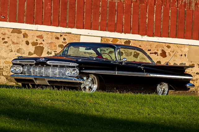 1959 Chevrolet Impala Front Side View