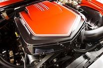 21 1969 Chevy Camaro Engine Cover