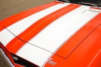 38 1969 Chevy Camaro Hood Stripes