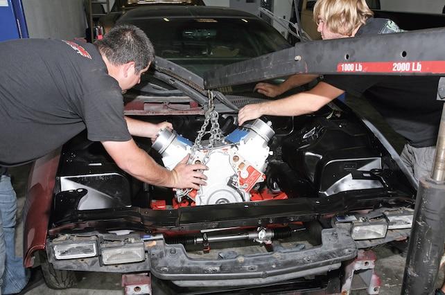 Chevrolet Camaro Engine Swap
