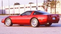 Corp 0807w Pl 1991 Chevrolet Corvette Zr1 Side View