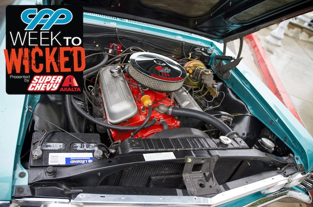 Lead Week To Wicked Chevelle 167 Amd Emerald Turquoise Engine Bay