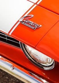 13 1969 Chevy Camaro Badge
