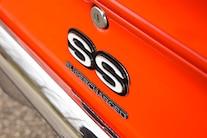41 1969 Chevy Camaro Ss Badge