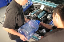 025 Week To Wicked Day 5 Chevelle Filling Flexalite Radiator