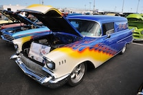 046 Super Chevy Show Palm Beach Florida 2016 Sunday Car Show Drag Race Afternoon