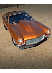 009 1971 Vega Chevrolet Fusion Bomb Gold Pro Street