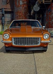 007 1971 Vega Chevrolet Fusion Bomb Gold Pro Street