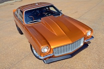 006 1971 Vega Chevrolet Fusion Bomb Gold Pro Street