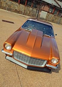 010 1971 Vega Chevrolet Fusion Bomb Gold Pro Street