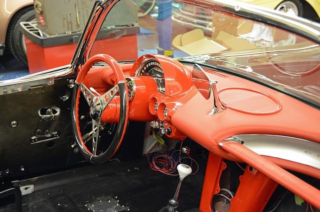 1 C1 Corvette Interior