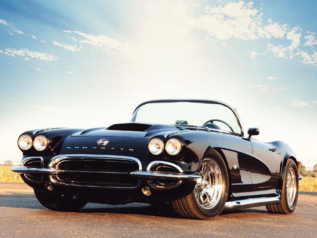 Chevrolet Corvette C1 1962 XXL OVER 1 METER WIDE Glossy Poster **UK SELLER**