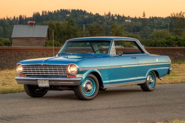 1 1963 Chevrolet Nova Front View