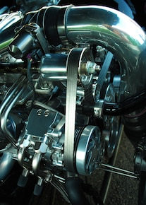 19 1970 Chevrolet Pro Touring Chevelle Engine