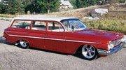 Sucp 0111 01 Pl 1961 Chevy Station Wagon Front View