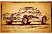 1961 Chevrolet Corvette Gulf Oil