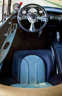 1957 Chevrolet Bel Air Marvin Meyer Steering Wheel