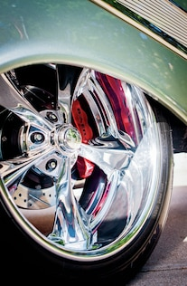 1957 Chevrolet Bel Air Marvin Meyer Wheel