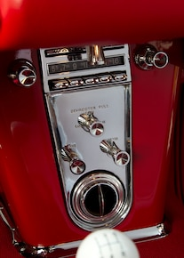 1962 Chevrolet Corvette Interior Controls