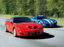 0901gmhtp 01 Pl 1999 Pontiac Trans Am Racing Dodge Viper