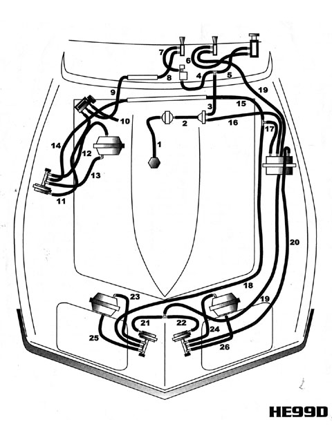 Wiring Diagram C3 Corvette Headlight Vacuum System Diagram 1974