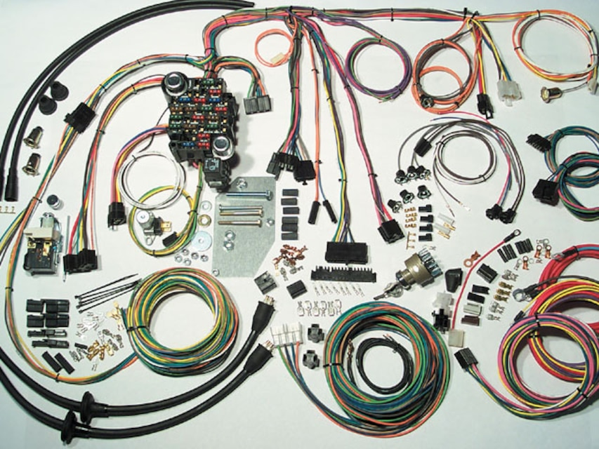 classic chevy cars wiring kit - american autowire