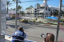 2015 Long Beach Grand Prix Chevrolet Corvette C7r Fence Hole Media