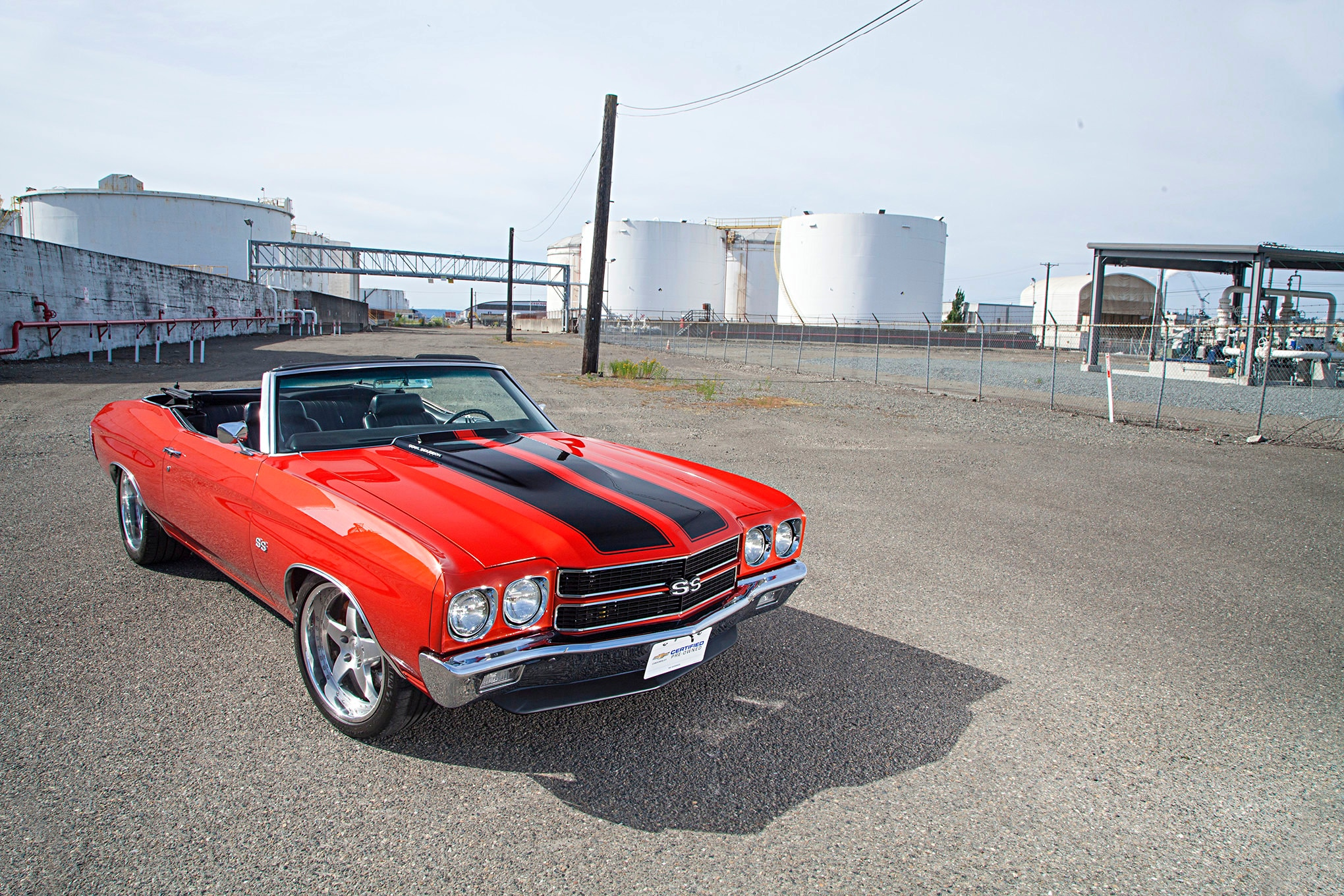 Here's an LS3 Powered 1970 Chevelle SS for the Missus