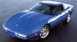 Corp 0809 Pl 1995 Chevrolet Corvette Coupe Left Front View