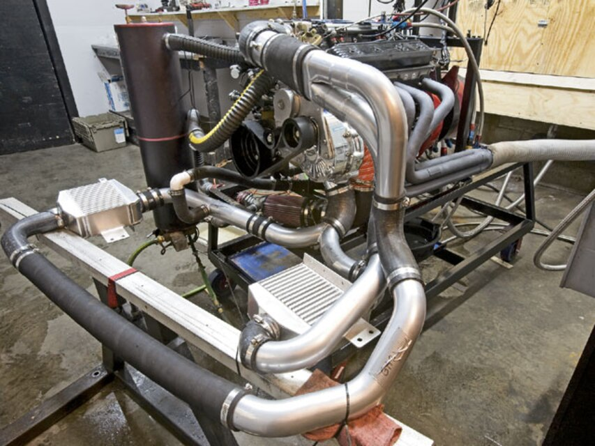 Golen Engine Services 383 LT1 ATI Procharger Install - GM