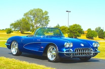 1959 Chevrolet Corvette Front Quarter