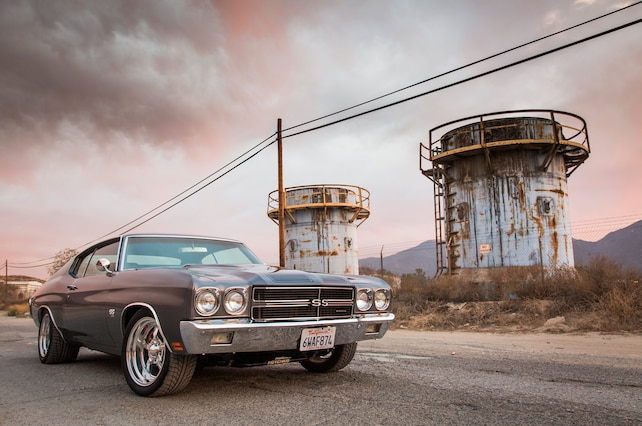 Big Block Powered 1970 Chevrolet Chevelle Ss