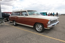 Super Chevy Show Tucson SWIR Nova Two Door Converted Wagon