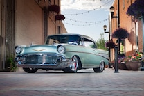 1957 Chevrolet Bel Air Marvin Meyer Front Quarter Alley