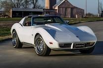 1975 Chevrolet Corvette Front Side View