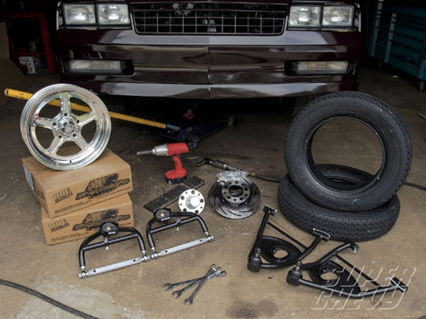 1987 Monte Carlo SS Suspension - G-Body - Super Chevy Magazine