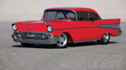 Sucp 0811 01 Pl Classic 1957 Chevy Bel Air Side View
