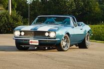 1967 Camaro Headlights Side View