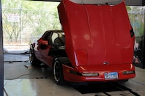 MSD Car Show 2015 C4 Grand Sport Red Corvette Dyno Chassis
