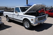 MSD Car Show 2015 C10 CHevy Truck White 1971